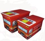 600d 폴리에스테 장난감을%s 사랑스러운 아이 버스 디자인 시리즈 저장 발판