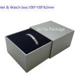 [ج-جب59] عادة ورقة جلد هبة مجوهرات يعبّئ صندوق من حلقة حلق ساعة عقد سوار صندوق حالة