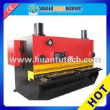 La macchina idraulica delle cesoie, riveste la macchina per il taglio di metalli, la macchina della ghigliottina (QC11Y)