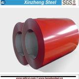 建築材料Dx51dの金属の鋼鉄Prepainted電流を通された鋼鉄コイル