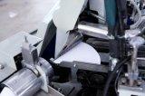 Cono de papel que forma la máquina