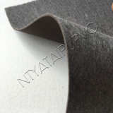Material de couro gravado teste padrão do PVC para a bolsa da bagagem