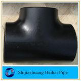 El acero de carbón de ASME B16.9 igual/derecho junta con te
