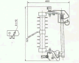 (h) Prwg1-10 Kv 옥외 고전압 하락 유형 신관