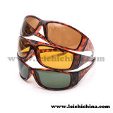 Обруч черепахи высокого качества обрамляет солнечные очки поляризовыванные рыболовством