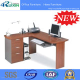 Venda quente L mesa de escritório de vidro da forma (RX-D1169)