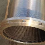 Tubo di filtrazione del collegare del cuneo dell'acciaio inossidabile dello schermo del Johnson