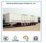 2개의 차축/3개의 차축/4 Axles Cargo 밴 Truck Semi-Trailer