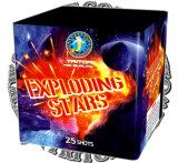 نجوم مجنون 25 طلقة خردق قالب لعبة ناريّة