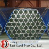 ERW Galvanized Steel Pipe für Structure Liquid Transportation