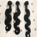 毛の織り方はブラジルの人間の毛髪のよこ糸を束ねる