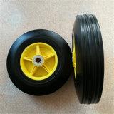 Roda de borracha contínua horizontalmente livre da carga pesada
