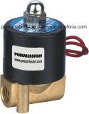 serie 2W 2/2 di elettrovalvola a solenoide ad azione diretta di modo, valvola d'ottone