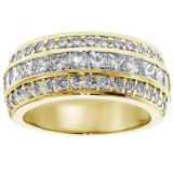 Band 925 van de trouwring Echte Zilveren Juwelen met de Diamant van het Kussen
