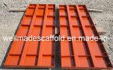 El panel del acero de la forma del metal del encofrado del bloque de cemento de la construcción