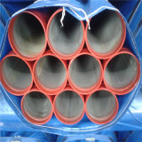 HDG Painted Grooved Steel Pipe für Fire Protection