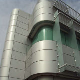 AluminiumCurtain Wall Cladding Sheet Without Color Verblassen-Away für 20 Years