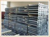 電流を通されたか、または塗られた調節可能な構築の足場は鋼鉄支柱を支える