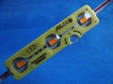 5730 3chips impermeabilizan el módulo de la inyección LED para la muestra al aire libre