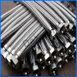 Boyau liquide en métal de bride en métal 1/2 Bsp