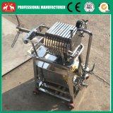 Piccola macchina di acciaio inossidabile della pressa del filtro dell'olio dell'olio di noce di cocco 2016