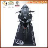Natte en caoutchouc de plancher de moto de support imprimée par vente chaude