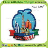Ricordo turistico personalizzato Doubai (RC-DI) dei regali del silicone dei magneti promozionali del frigorifero