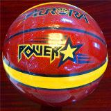 كرة سلّة صنع وفقا لطلب الزّبون [ور-رسستينغ] نوعية رخيصة [12بيسس] 4#5#6#7# [بو] [سغ0024] كرة سلّة