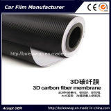 чернота винила волокна углерода 3D