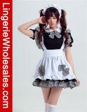 섹시한 여자의 Anime Cosplay 프랑스 하녀 공상 복장 복장