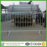 La de aço Valla Seguridad da barreira do controle de multidão da segurança de construção