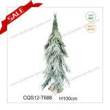 Decorazione artificiale decorativa di natale dell'albero di Natale del PE esterno di H100-140cm