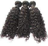trama Kinky do cabelo humano da onda do cabelo brasileiro do Virgin 8A