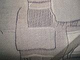 Tessuto di tela della pianura del ringrosso del cotone