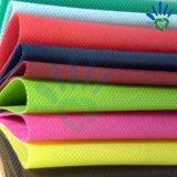 Buntes Polyester 100% Spinnen-Verpfänden nicht gesponnenes Gewebe für Einkaufstasche