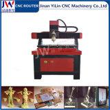 mini router 3030/4040/6060 di CNC del metallo per la pubblicità della plastica di legno acrilica