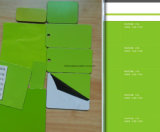 Алюминиевая составная панель (зеленый цвет телекоммуникаций ZWM-8837)