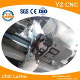 Ck6150 met de Voeder van de Staaf en CNC van het Controlemechanisme van Siemens de Draaibank van het Metaal