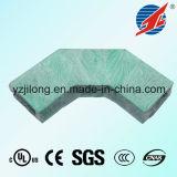 Enlace reforzado fibra de vidrio del cable de los plásticos