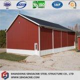 Entrepôt agricole mobile préfabriqué en acier