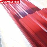 O metal do Galvalume do material de construção colore a telhadura