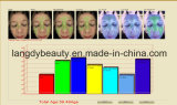 Analizador facial de la piel del espejo mágico de los Multi-Lenguajes