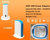 신제품 30W 6USB 이동 전화 충전기