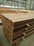Suelo de bambú carbonizado del cuarto de baño del color