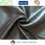Manera de la chaqueta de cuero grabada alineando el fabricante de la tela