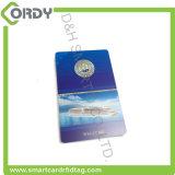 Carte principale d'hôtel de carte à puce de PVC MIFARE 4K de jet d'encre