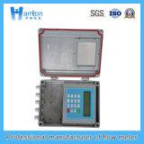 Débitmètre ultrasonique fixe d'acier du carbone (compteur de débit) pour Dn50-Dn700