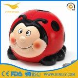 Подарок коробки сбережения деньг венчания Piggy крена монетки футбола керамический