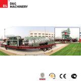 Planta de tratamento por lotes do asfalto móvel de 100 T/H-123t/H