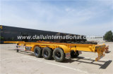 de 3-Axle 40FT de conteneur de transport de semi-remorque de squelette remorque semi